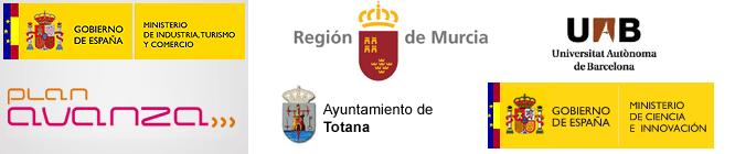 Logotipos de los organismos colaboradores